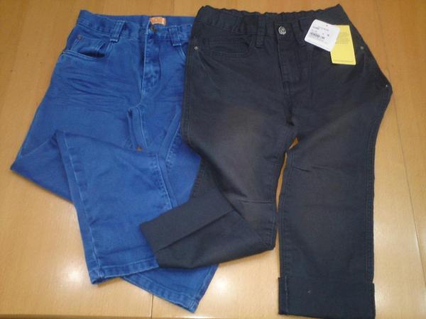 Zwei NEUE Kinder-Jeans Gr 134