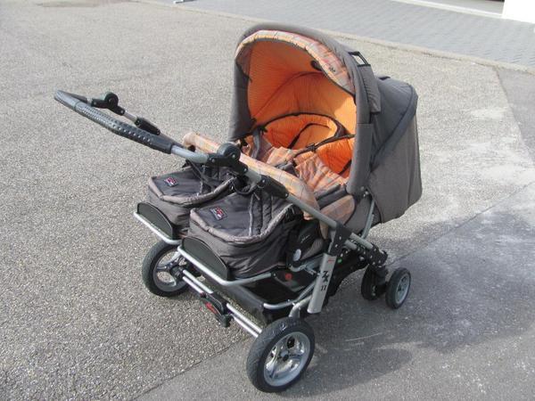 Zwillingskinderwagen hartan  Zwillingskinderwagen Hartan ZX II in Gernsbach - Kinderwagen ...